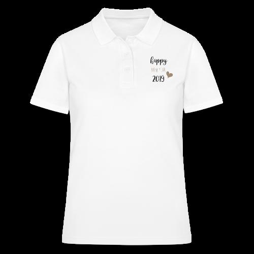 Happy New Year 2019 - Frauen Polo Shirt