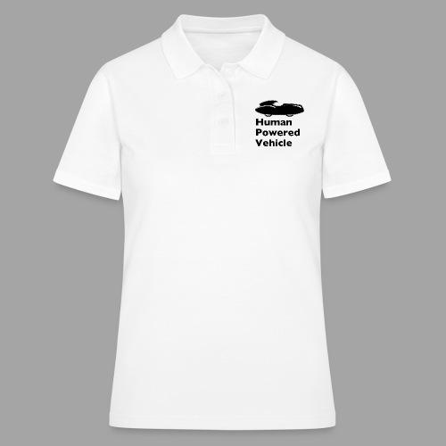 Quattrovelo Human Powered Vehicle black - Women's Polo Shirt