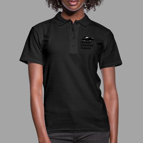 Quattrovelo Human Powered Vehicle black - Women's Polo Shirt