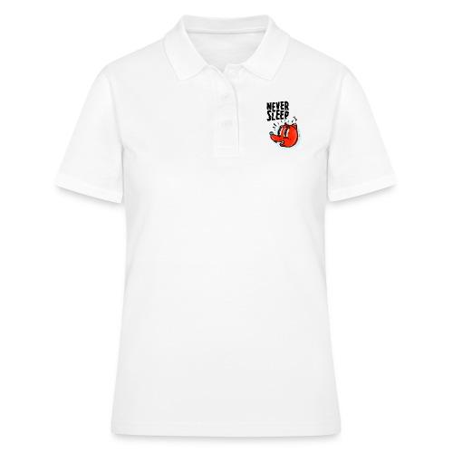 Never Sleep - Frauen Polo Shirt