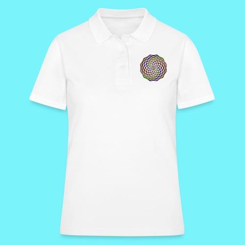 Mandala in rainbow colours - Women's Polo Shirt