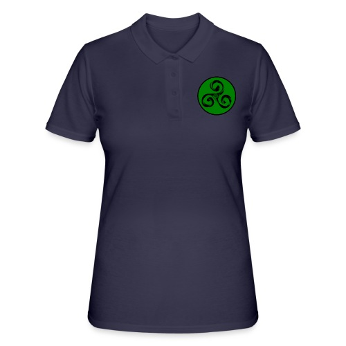 Triskel and Spiral - Women's Polo Shirt