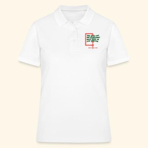 Wer nicht mit mir klarkommt... - Frauen Polo Shirt