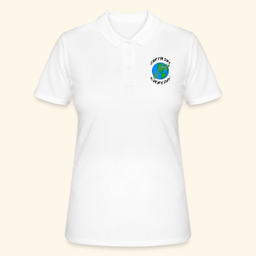 Earth Day Every Day - Frauen Polo Shirt