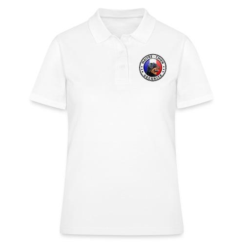 Ecusson rond Maitre-Chien rottweiler - Women's Polo Shirt