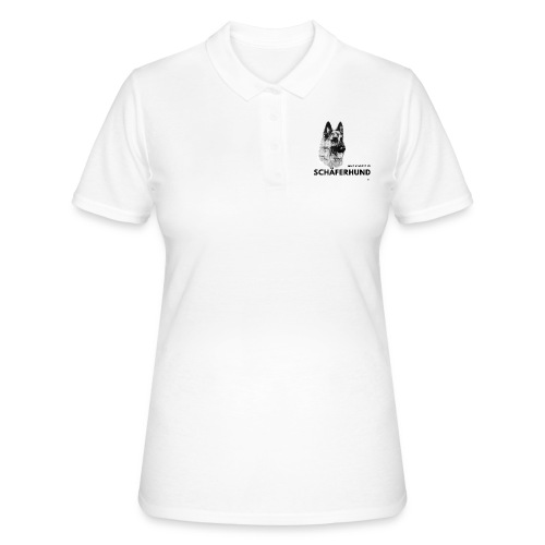 Home is where my Schäferhund is ! - Frauen Polo Shirt