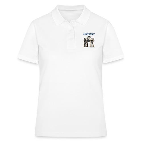 Münchnen Siegestor - Frauen Polo Shirt
