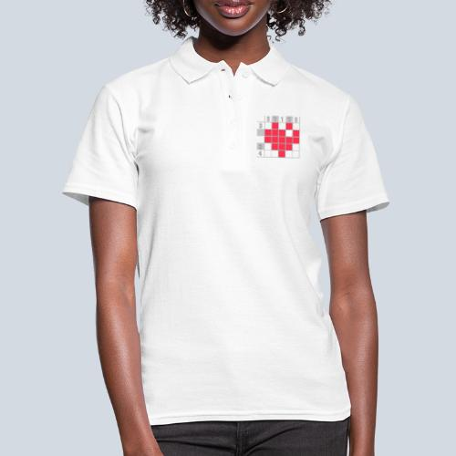 Heart Tshirt Women - Polo Femme