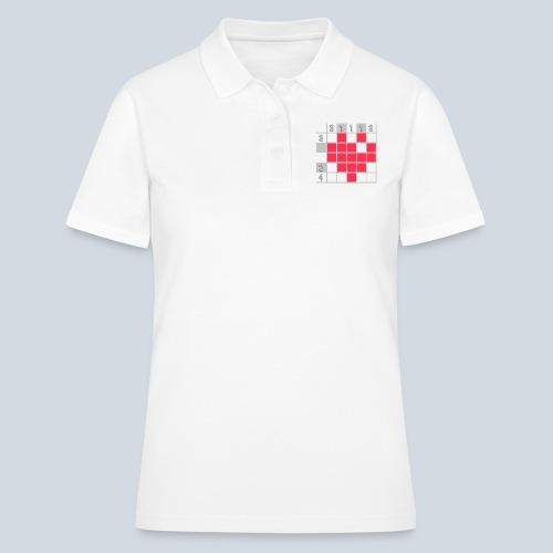 Heart Tshirt Women - Women's Polo Shirt