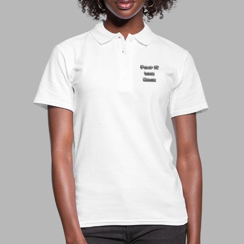 Pump it like Arnie - Frauen Polo Shirt