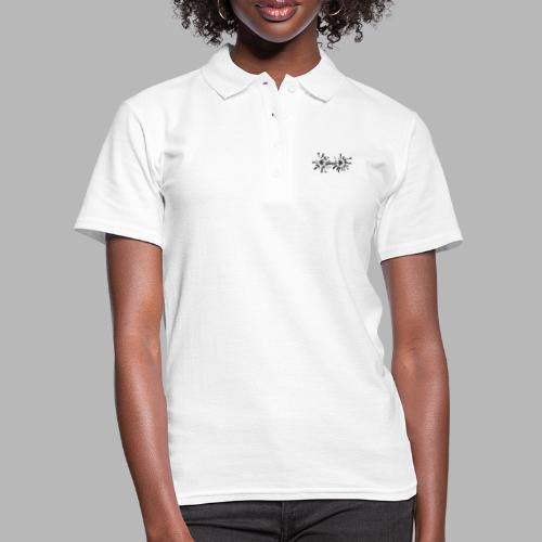 Hantel Splash - Frauen Polo Shirt
