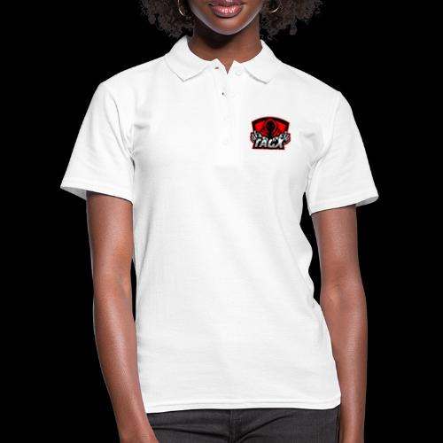 TagX Logo with red borders - Women's Polo Shirt