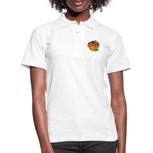 Schüssel Spaghetti - Frauen Polo Shirt