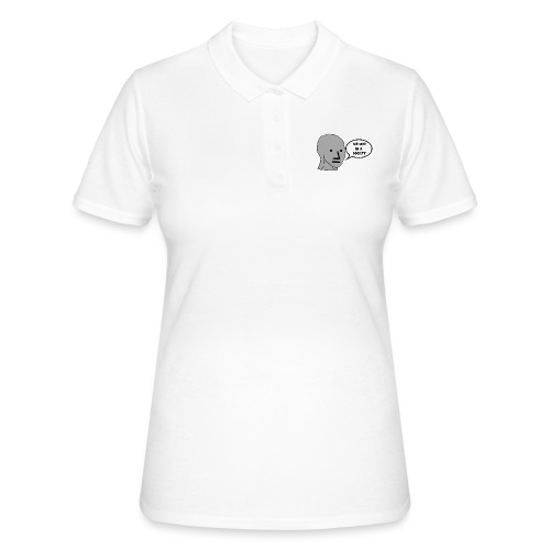 NPC We Live in a Society Meme - Women's Polo Shirt
