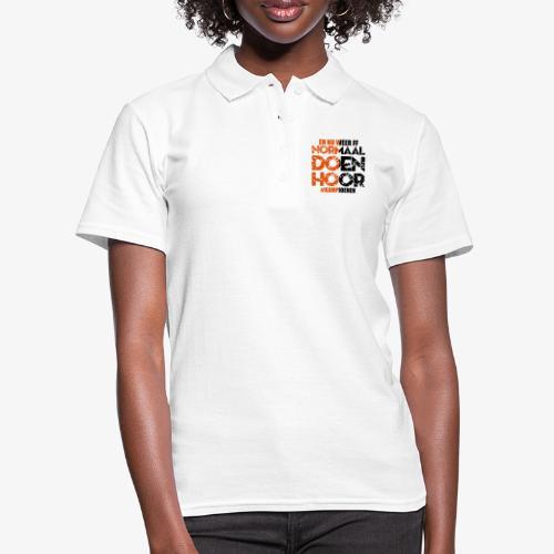 Normaal doen hoor - Women's Polo Shirt