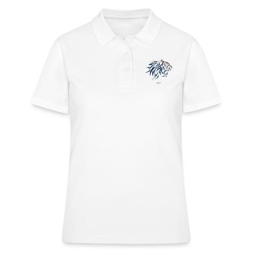tiger vector - Camiseta polo mujer