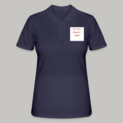 On Tour In Magaluf, 2020 - Printed T Shirt - Women's Polo Shirt
