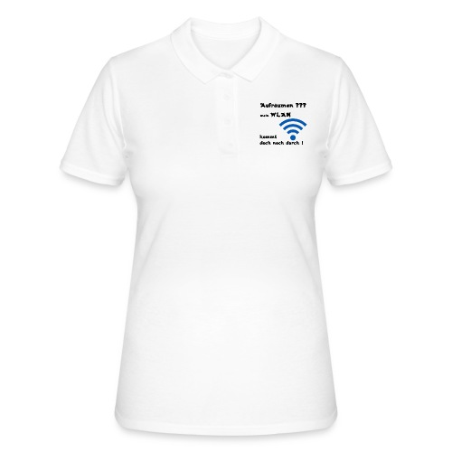 Wlan SW - Frauen Polo Shirt