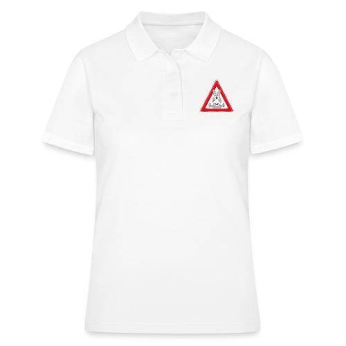 VORSICHT ESEL - TIER - TIERISCH - GESCHENKIDEE - Frauen Polo Shirt