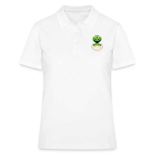 KROKODIL - GEBURT - BABY - TIER - KIND - EI - Frauen Polo Shirt