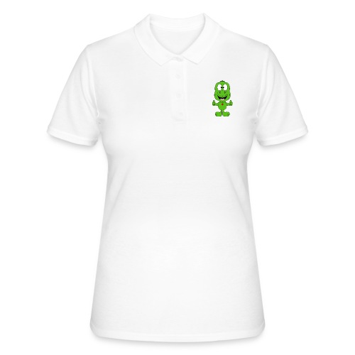DINO - DINOSAURIER - LIKE - LIKEN - MÖGEN - KIND - Frauen Polo Shirt