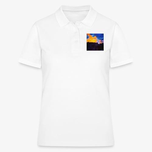 Artistic Sunset - Women's Polo Shirt