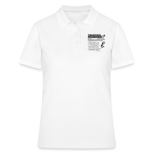 Vrijgezellenshirt man - Women's Polo Shirt