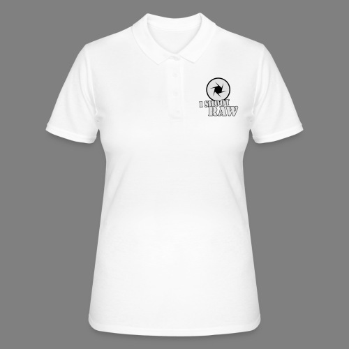 I shoot RAW - Frauen Polo Shirt