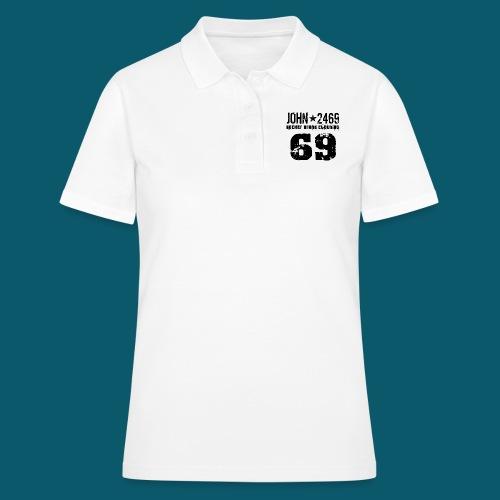 john 2469 numero trasp per spread nero PNG - Women's Polo Shirt