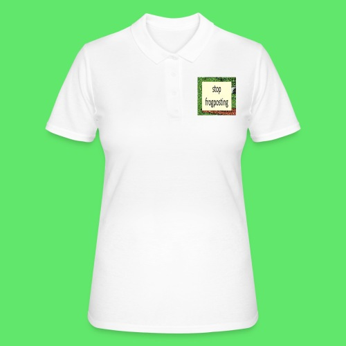 Frogposter - Women's Polo Shirt