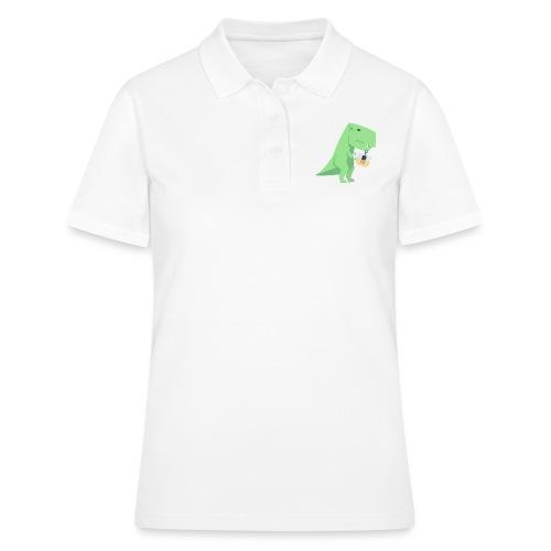 Tea-Saurus - Frauen Polo Shirt
