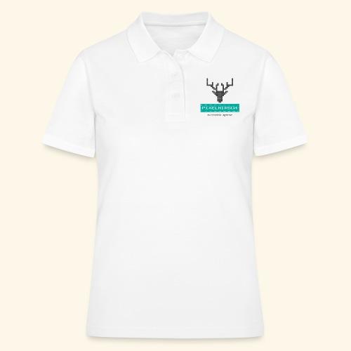 PIXELHIRSCH - Logo - Frauen Polo Shirt