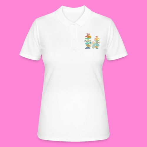 Orchid painting - Women's Polo Shirt