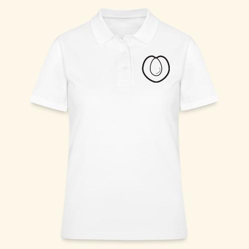 fruits and veggies icons peach 512 - Women's Polo Shirt