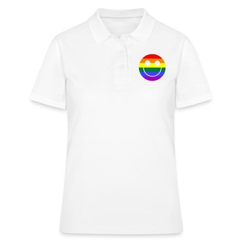 Regenbogen Smilie 1 - Frauen Polo Shirt