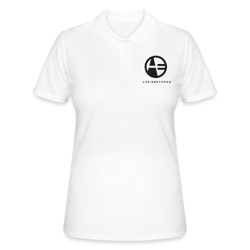 LOGO black - Women's Polo Shirt