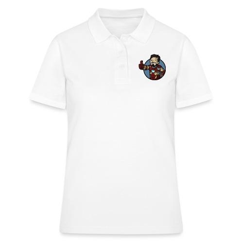 Vault-Boy/Iron Man Mashup T-shirt - Women's Polo Shirt