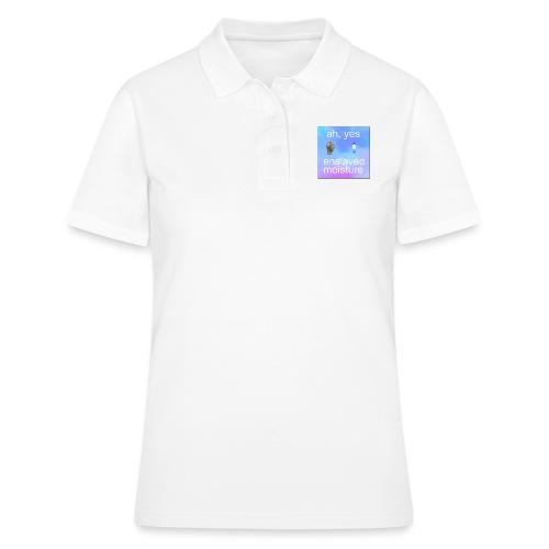 ah yes enslaved moisture meme - Women's Polo Shirt