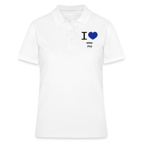 ilovephil - Women's Polo Shirt