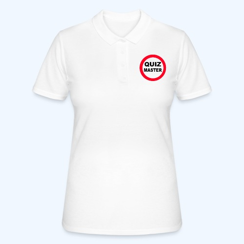 Quiz Master Stop Sign - Women's Polo Shirt