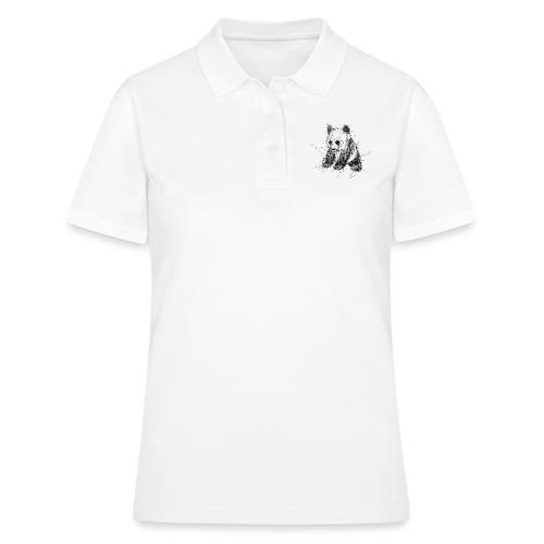 Scribblepanda - Women's Polo Shirt