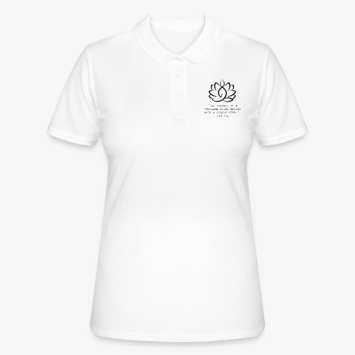 Travel quote 3 - Women's Polo Shirt