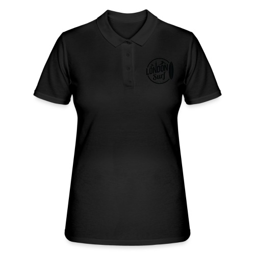 London Surf - Black - Women's Polo Shirt