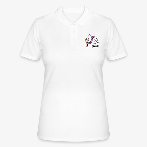 Radio Friendly Brain Worm - Women's Polo Shirt