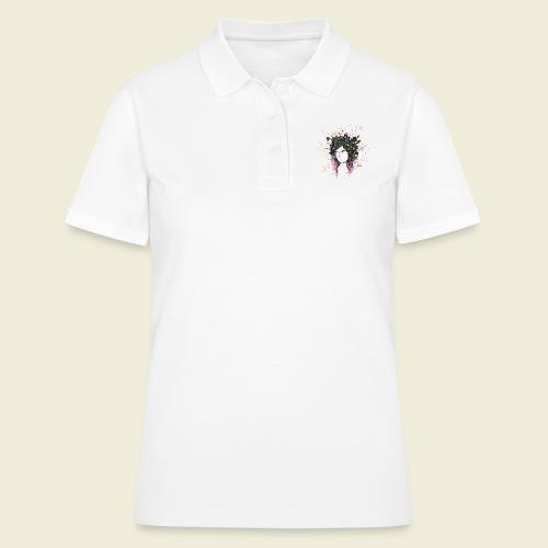 flower crown - Women's Polo Shirt