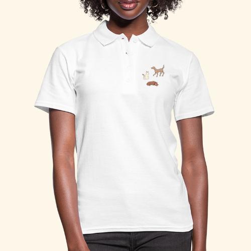 Pet trio - Women's Polo Shirt