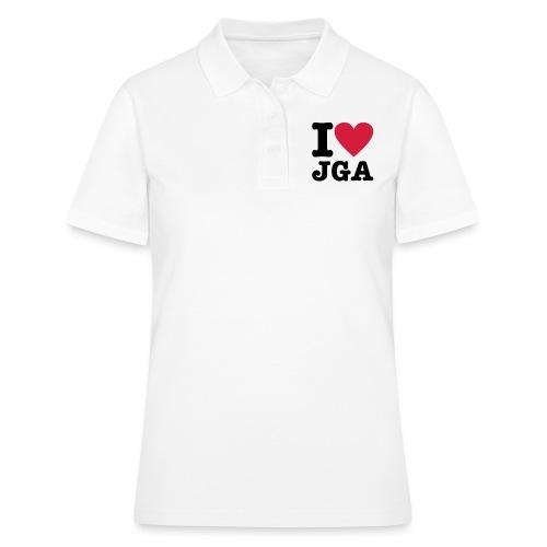 I love JGA - Frauen Polo Shirt
