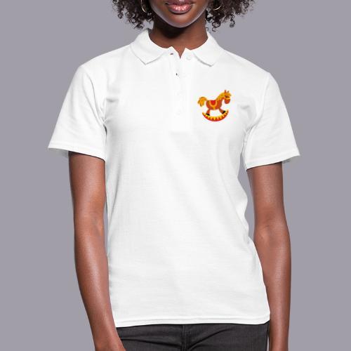 Schaukelpferd - Frauen Polo Shirt