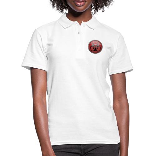 DANGER BIOHAZARD - Frauen Polo Shirt