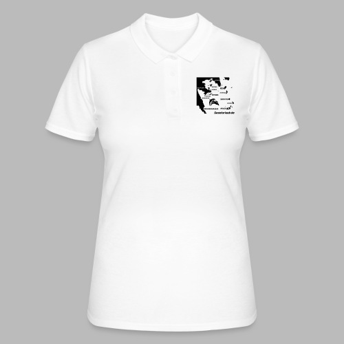 pelepones_kykladen - Frauen Polo Shirt